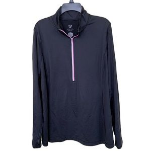 Livi Active Jacket Long Sleeve Black Size: 22/24